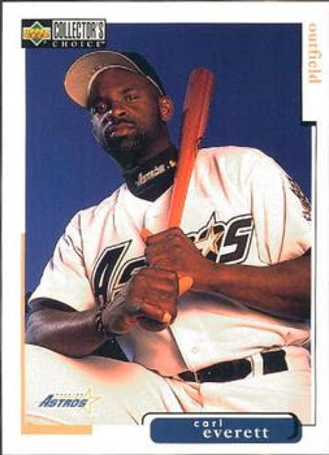 1998 Collector's Choice #383 Carl Everett VG  Houston Astros