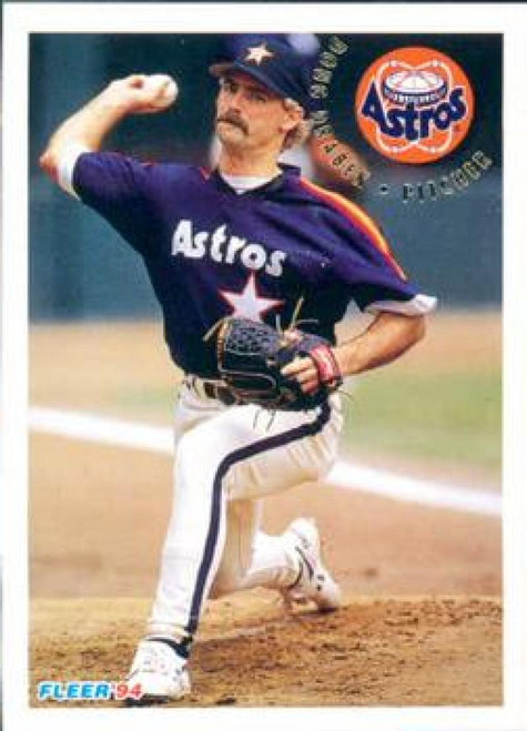 1994 Fleer #489 Doug Drabek VG Houston Astros