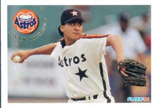1994 Fleer #493 Xavier Hernandez VG Houston Astros