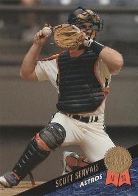 1993 Leaf #33 Scott Servais VG Houston Astros