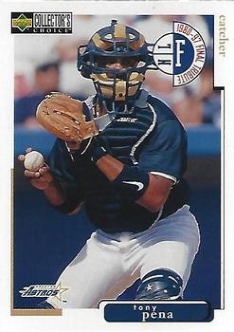 1998 Collector's Choice #129 Tony Pena VG  Houston Astros