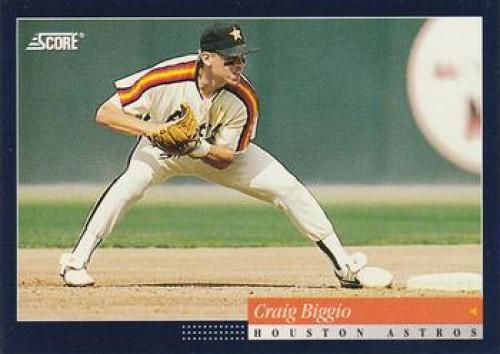 1994 Score #48 Craig Biggio VG Houston Astros