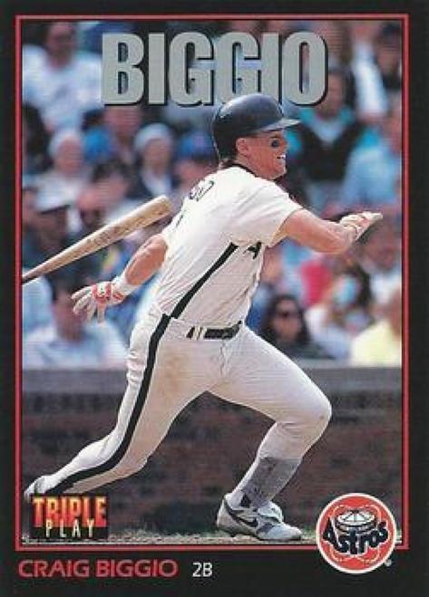 1993 Triple Play #100 Craig Biggio VG Houston Astros