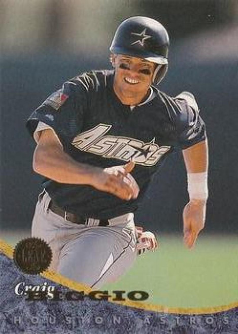 1994 Leaf #236 Craig Biggio VG Houston Astros