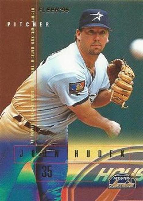 1995 Fleer #463 John Hudek VG Houston Astros