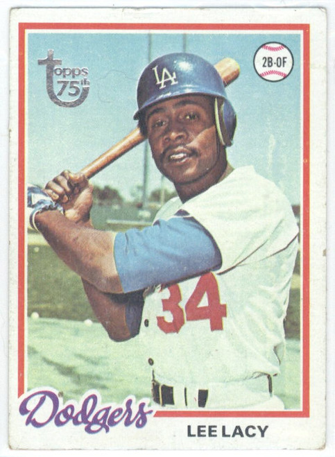 1978 Topps #104 Lee Lacy COND Los Angeles Dodgers