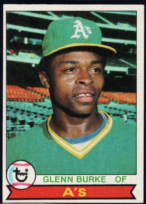 1979 Topps #163 Glenn Burke VG Oakland Athletics