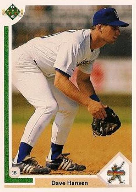 1991 Upper Deck #4 Dave Hansen VG Los Angeles Dodgers