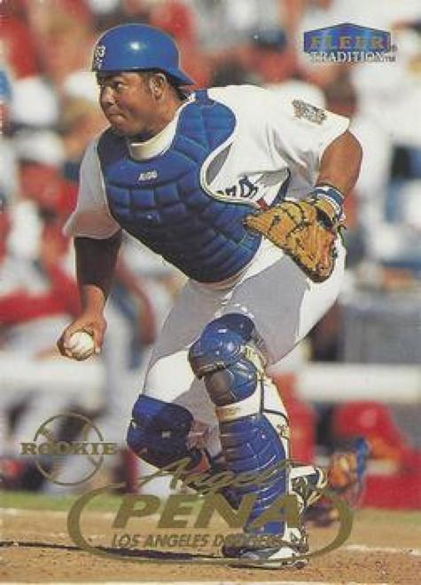1998 Fleer Update #U11 Angel Pena VG RC Rookie Los Angeles Dodgers