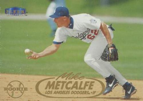 1998 Fleer Update #U81 Mike Metcalfe VG Los Angeles Dodgers