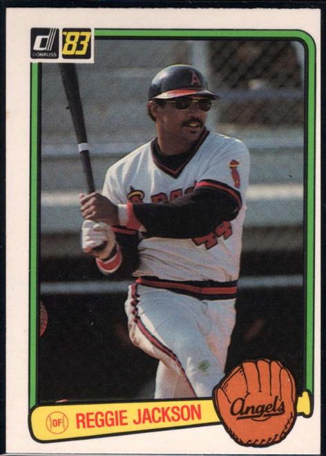1983 Donruss #115 Reggie Jackson VG California Angels