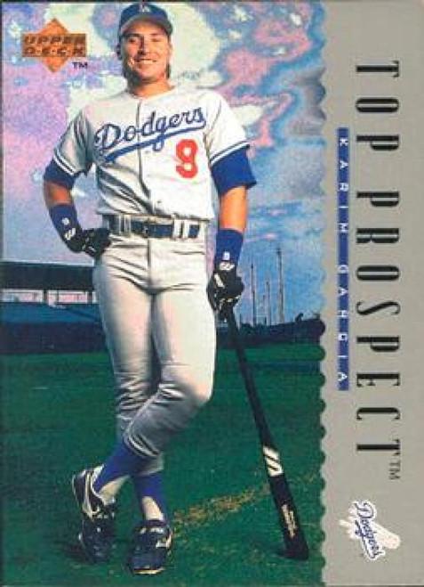 1995 Upper Deck #9 Karim Garcia VG RC Rookie Los Angeles Dodgers