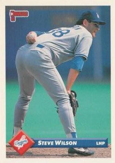 1993 Donruss #34 Steve Wilson VG Los Angeles Dodgers
