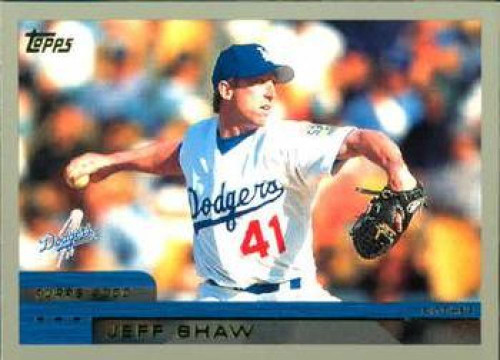 2000 Topps #49 Jeff Shaw VG Los Angeles Dodgers