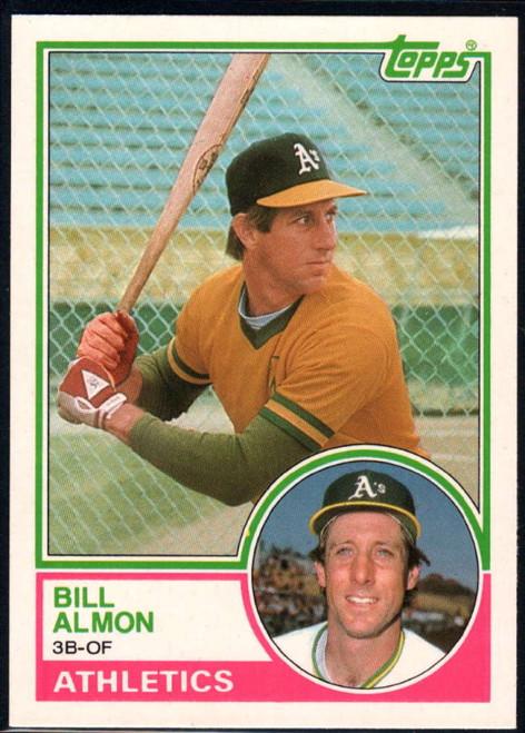 1983 Topps Traded #2T Bill Almon VG Oakland Athletics