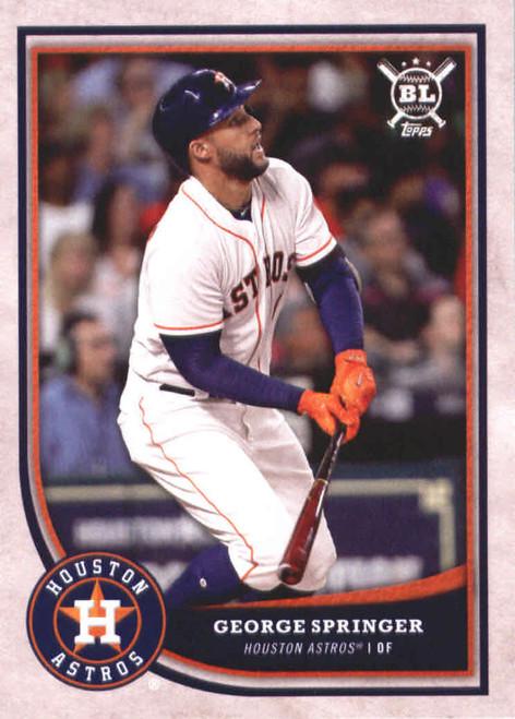 2018 Topps Big League #252 George Springer NM-MT  Houston Astros