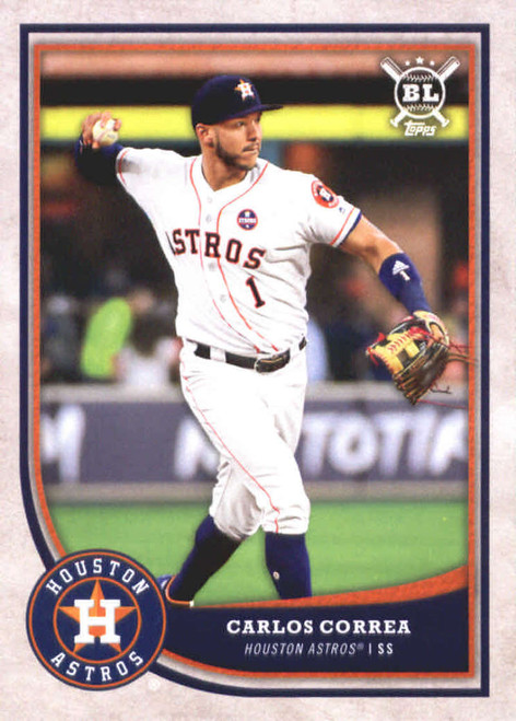 2018 Topps Big League #200 Carlos Correa NM-MT  Houston Astros