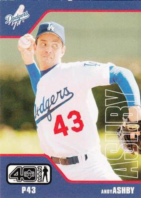 2002 Upper Deck 40-Man #691 Andy Ashby NM-MT  Los Angeles Dodgers