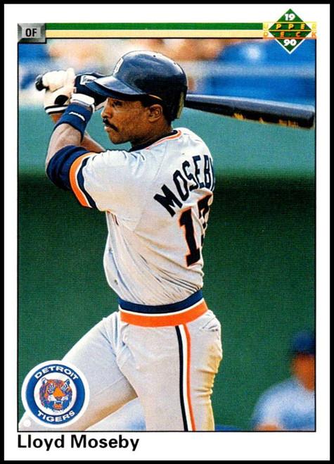 1990 Upper Deck #789 Lloyd Moseby VG Detroit Tigers