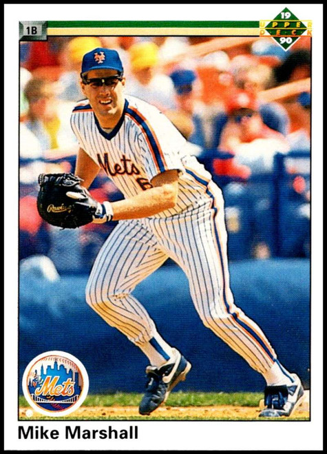 1990 Upper Deck #781 Mike Marshall VG New York Mets