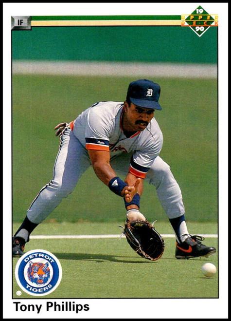 1990 Upper Deck #768 Tony Phillips VG Detroit Tigers