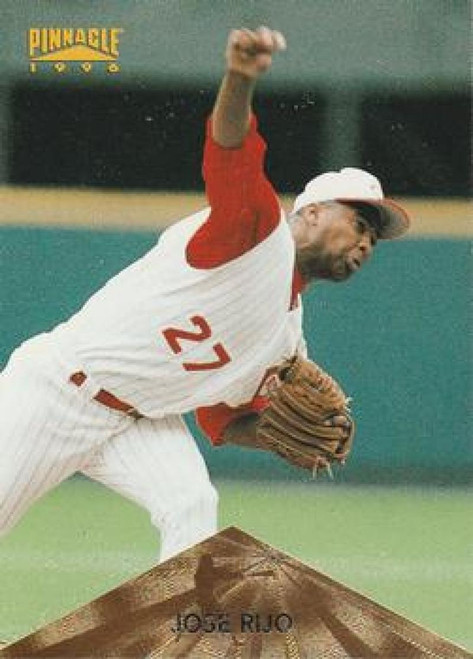 1996 Pinnacle #44 Jose Rijo VG Cincinnati Reds