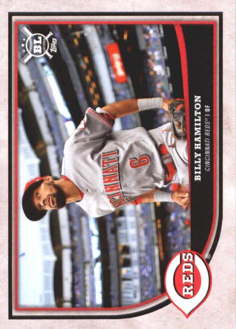 2018 Topps Big League #210 Billy Hamilton NM-MT  Cincinnati Reds