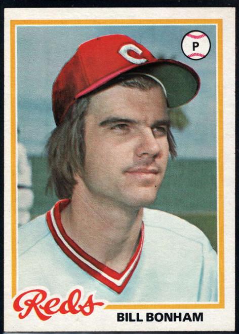 1978 Topps #276 Bill Bonham DP VG Cincinnati Reds
