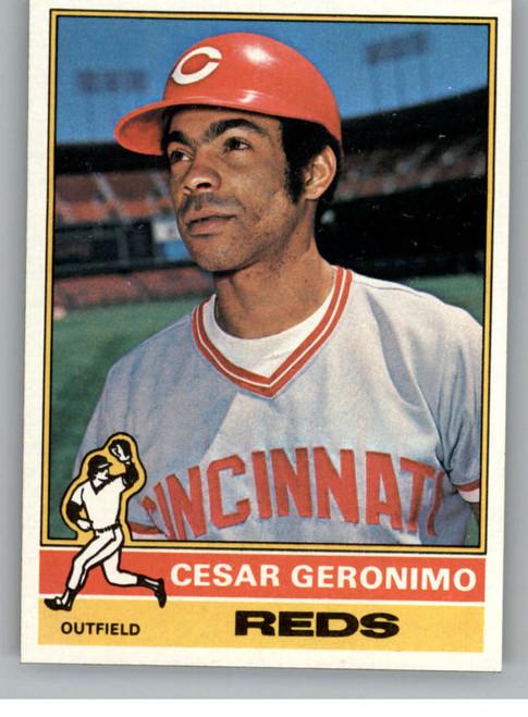 1976 Topps #24 Cesar Geronimo VG Cincinnati Reds