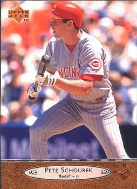 1996 Upper Deck #46 Pete Schourek VG Cincinnati Reds