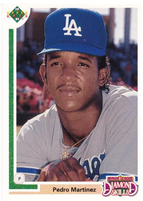 1991 Upper Deck Final Edition #2F Pedro Martinez NM-MT RC Rookie Los Angeles Dodgers