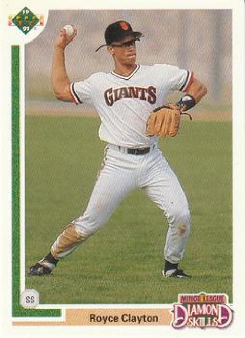 1991 Upper Deck Final Edition #4F Royce Clayton NM-MT San Francisco Giants