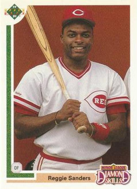 1991 Upper Deck Final Edition #11F Reggie Sanders NM-MT Cincinnati Reds