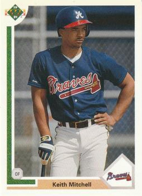 1991 Upper Deck Final Edition #56F Keith Mitchell NM-MT RC Rookie Atlanta Braves
