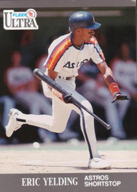 1991 Ultra #141 Eric Yelding VG Houston Astros