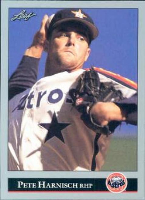 1992 Leaf #77 Pete Harnisch VG Houston Astros