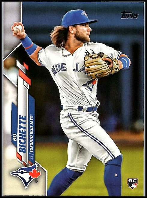 SOLD 88660 2020 Topps #78 Bo Bichette NM-MT RC Rookie Toronto Blue Jays