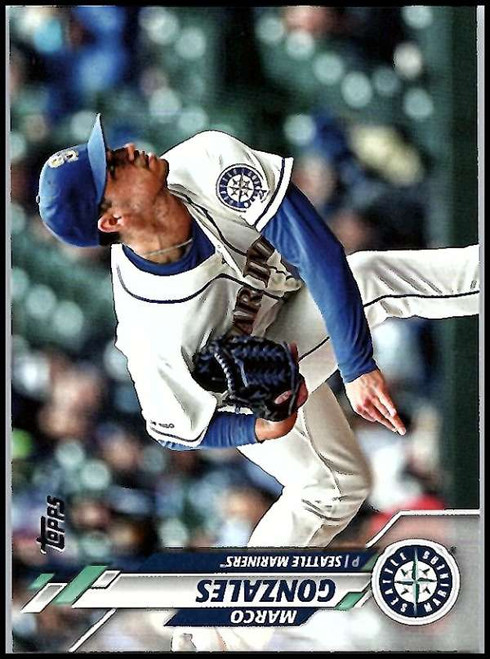 2020 Topps #104 Marco Gonzales NM-MT Seattle Mariners