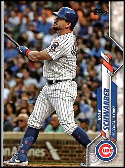 2020 Topps #119 Kyle Schwarber NM-MT Chicago Cubs
