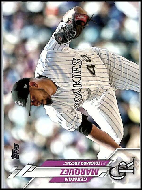 2020 Topps #126 German Marquez NM-MT Colorado Rockies