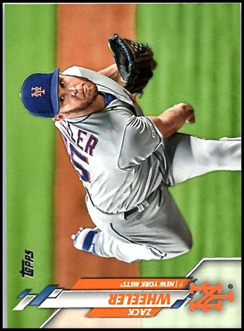 2020 Topps #152 Zack Wheeler NM-MT New York Mets