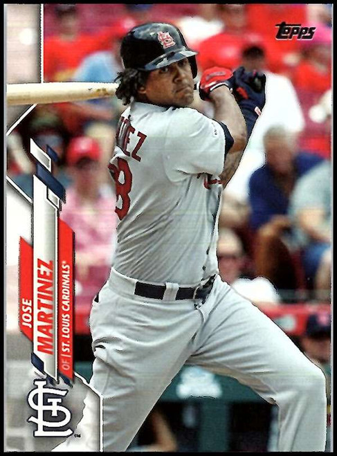 2020 Topps #55 Jose Martinez NM-MT St. Louis Cardinals