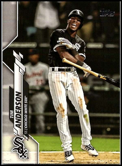 2020 Topps #28 Tim Anderson NM-MT Chicago White Sox