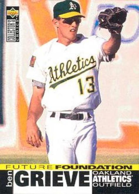 1995 Collector's Choice #40 Ben Grieve VG Oakland Athletics