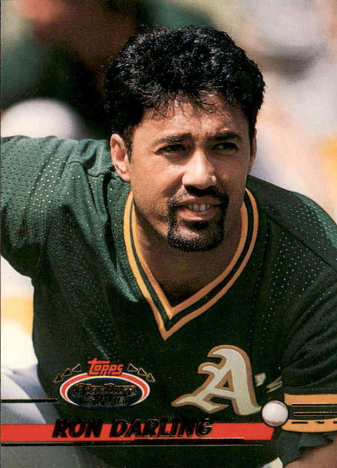 1993 Stadium Club #305 Ron Darling VG Oakland Athletics