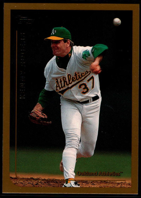 1999 Topps #27 Kenny Rogers VG Oakland Athletics