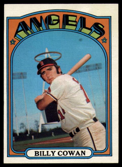 1972 Topps #19 Billy Cowan VG California Angels