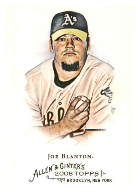2008 Topps Allen and Ginter #229 Joe Blanton NM-MT  Oakland Athletics