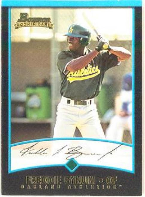 2001 Bowman #143 Freddie Bynum VG RC Rookie Oakland Athletics