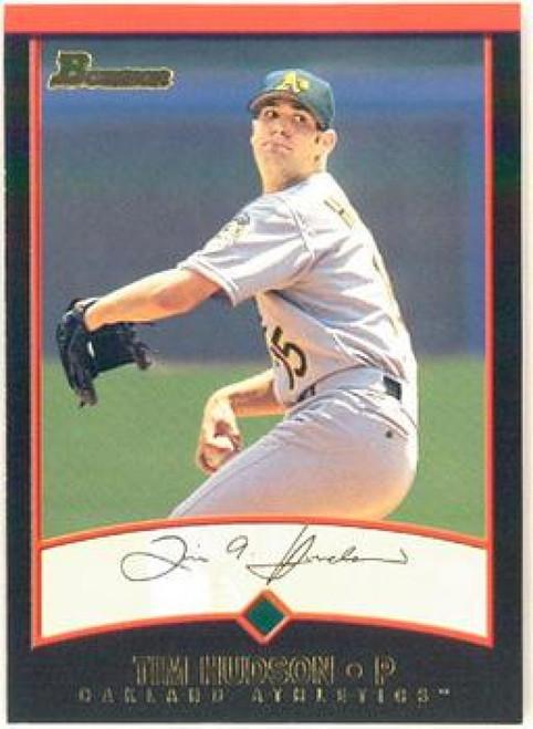 SOLD 68697 2001 Bowman #96 Tim Hudson VG Oakland Athletics